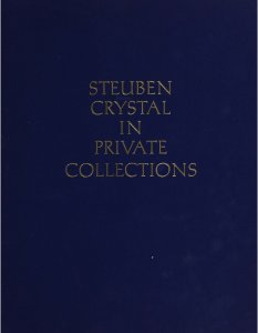 Steuben crystal in private collections.