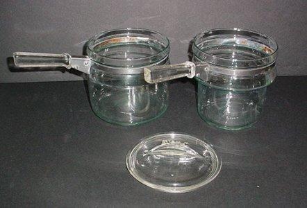 Pyrex Flameware Double Boiler