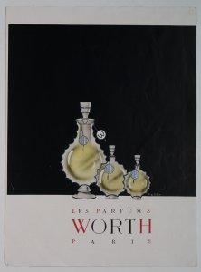 [Three bottles of Requête perfume] [advertisement].