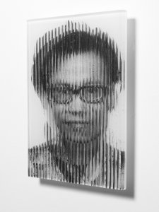 Triple self-portrait [picture].