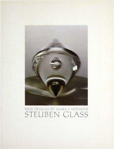 New designs by James Carpenter: Steuben Glass.