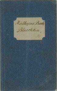 Miethzins Buch Blaschka.