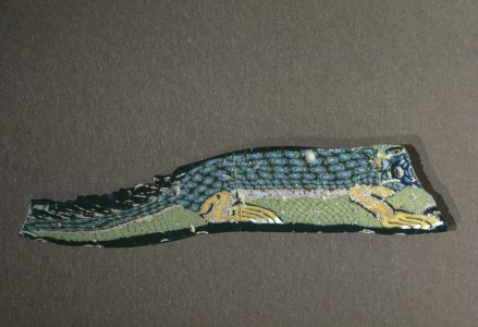 Inlay Shaped like Crocodile