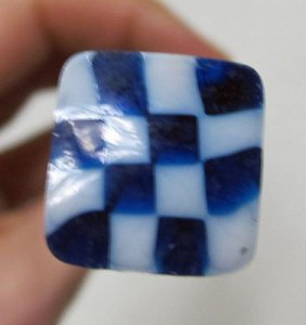 Murrine Cane with Checkerboard