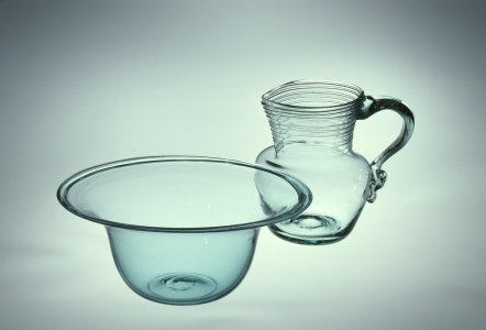 Wash Basin and Pitcher