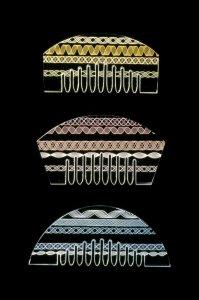 Kushi (comb) [slide].