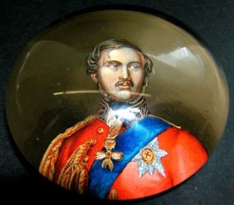 Paperweight of Prince Albert