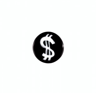 Murrina with Dollar Sign