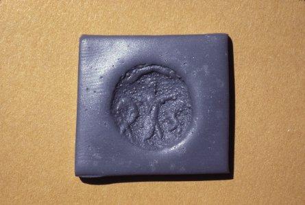 Byzantine Bronze Coin Trend Mark Arab Standing Caliph Moderate Price