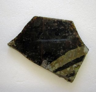 Fragment of Flat Glass
