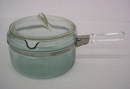 Pyrex Saucepan and Cover