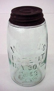 Preserving Jar with Cap