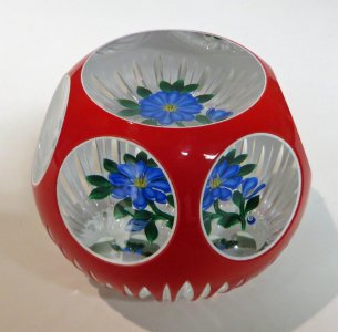 Paperweight with a Flower