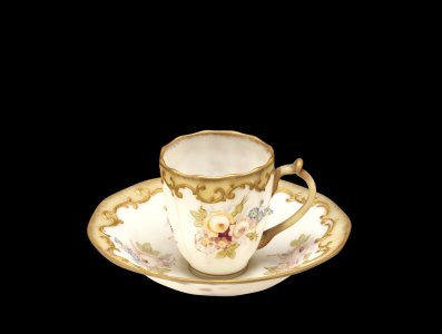 Crown Milano Cup and Saucer