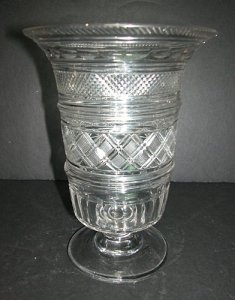 Cut Glass Celery Vase