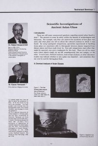 Scientific Investigations of Ancient Asian Glass