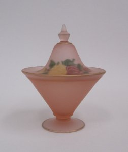 Tiffin Conic Candy Jar and Cover