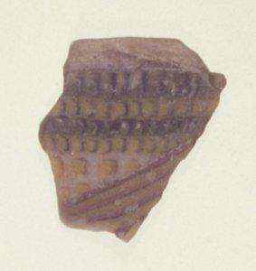 Fragment of Mosaic Glass Fish