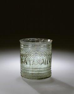 Beaker with Greek Inscription
