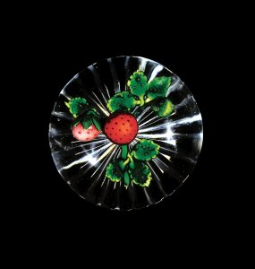Paperweight with Strawberries