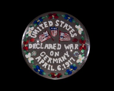 Paperweight with Declaration of War