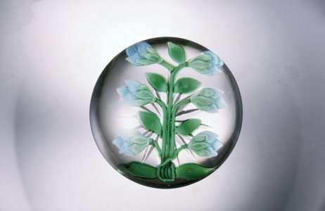 Paperweight with Flower Buds