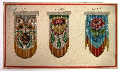 Beaded Fringe Sample Card