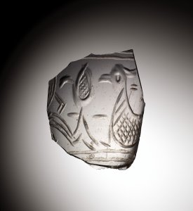 Fragment of Beaker with Bird