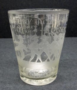 Old Glass In Lauensteiner Type Around 1800 Neither Too Hard Nor Too Soft Glass