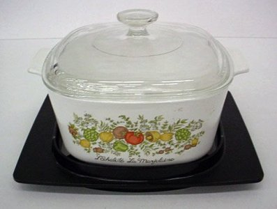 Saucepan with Cover and Cradle