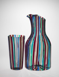 """""""A Canne"""" (Canes) Pitcher and Tumbler"""