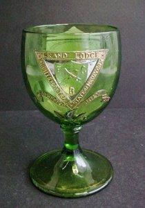 Goblet with Masonic Symbols