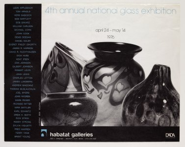 4th annual national glass exhibition [picture].