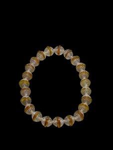 Dahlias et rondelles plates (Dahlias and flat rings)