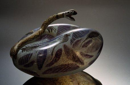 Trapped snake [slide].