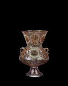 Vase in the form of a Mosque Lamp