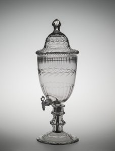 Covered Wine Urn with Standard