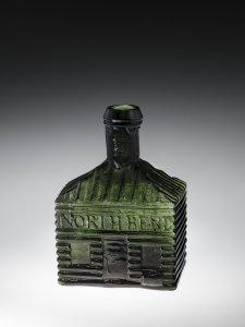 Log Cabin Bottle