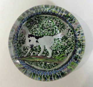 Paperweight with Dog