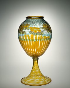 Large Vase with Inflated Murrine