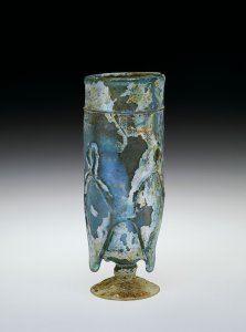 Beaker with Trailed-on Decoration