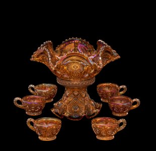 Punch Bowl on Stand