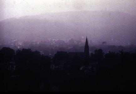 [Hurricane rains over Corning, June 22, 1972] [slide].