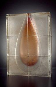Amber teardrop [slide].
