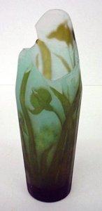 Acid-Etched Vase
