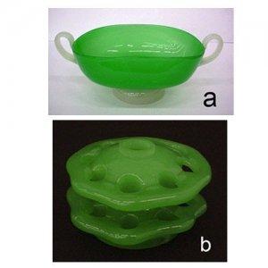"""Green Jade and Alabaster"" series"