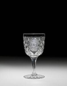 "Cordial Glass in ""Russian"" Pattern"