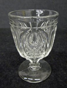 """Egg Cup in """"New England Pineapple"""" Pattern"""