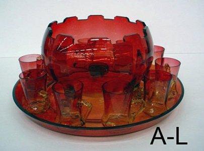 12 Piece Punch Bowl Set