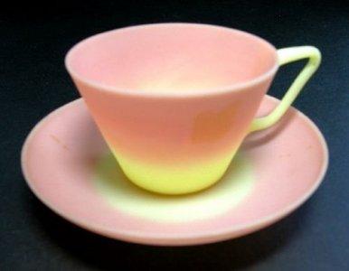 Burmese Cup and Saucer